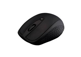 Modecom MC-WM4 bezdrátová optická myš, 3 tlačítka, 1600 DPI, USB nano, černá