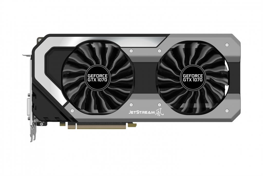 PALIT GeForce GTX 1070 Jetstream, 8GB GDDR5 (256 Bit), HDMI, DVI, 3xDP