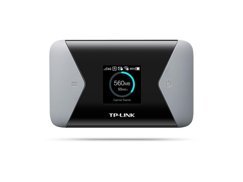 TP-Link M7310 150M 4G LTE WiFi Modem Router, SIM slot, TFT, 2000mAh, 2,4/5GHz,
