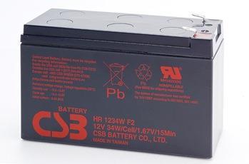 CSB kit 2 baterií GP1HR1234W F2 12V/9Ah