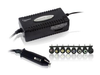 Gembird univerzální napájecí notebook adaptér do auta 12V/80W - anglický návod