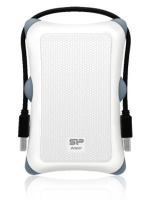 Silicon Power externí HDD Armor A30 2.5'' 2TB USB 3.0, Anti-shock, bilá