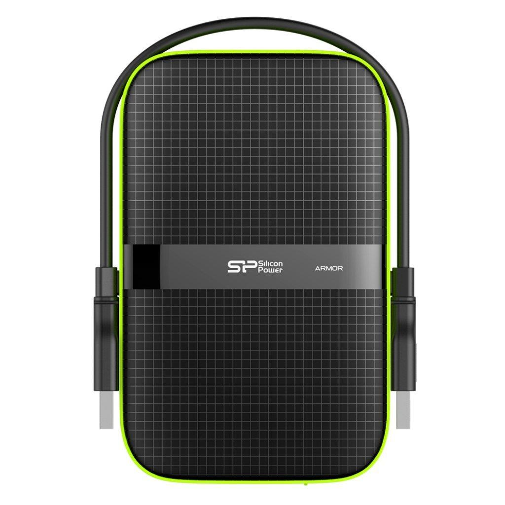 Silicon Power externí HDD Armor A60 2.5'' 500GB USB 3.0, IPX4, černá