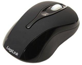 LOGILINK - Mini optická myš k notebooku, černá