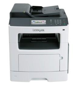 Lexmark MX517de, mono laser MFP, 1200dpi, 38ppm, 256MB, 800MHz, USB, Duplex,GLan, Fax