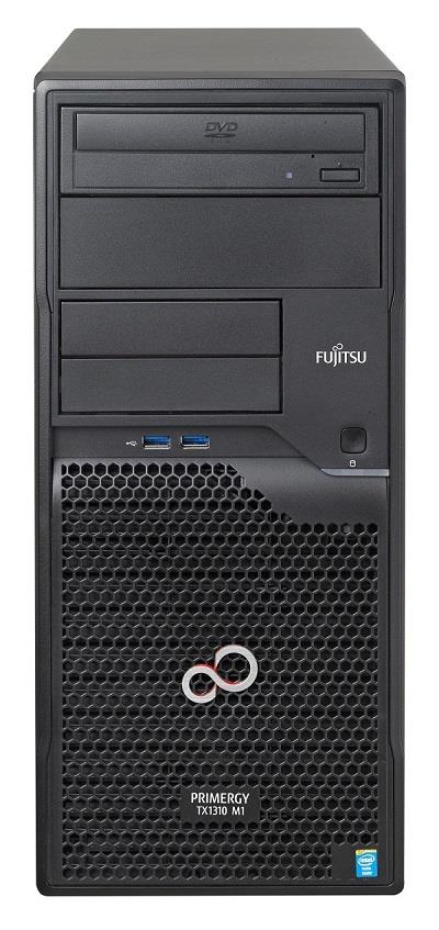 Primergy TX1310M1 E3-1246v3 8GB DDR3 2x2TB SATA DVDRW 2xGLAN 3y warranty