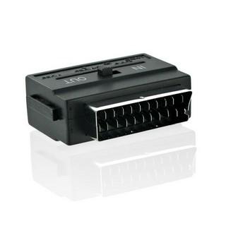 4World Adapter EURO - SVHS / 3 x CHINCH