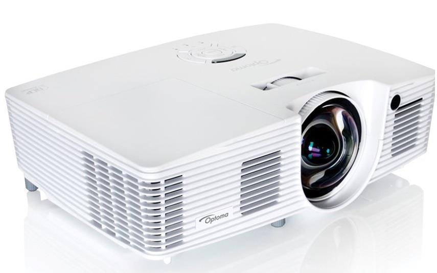 Projektor Optoma W316ST (DLP; WXGA; Full 3D, 3600; 20000:1)