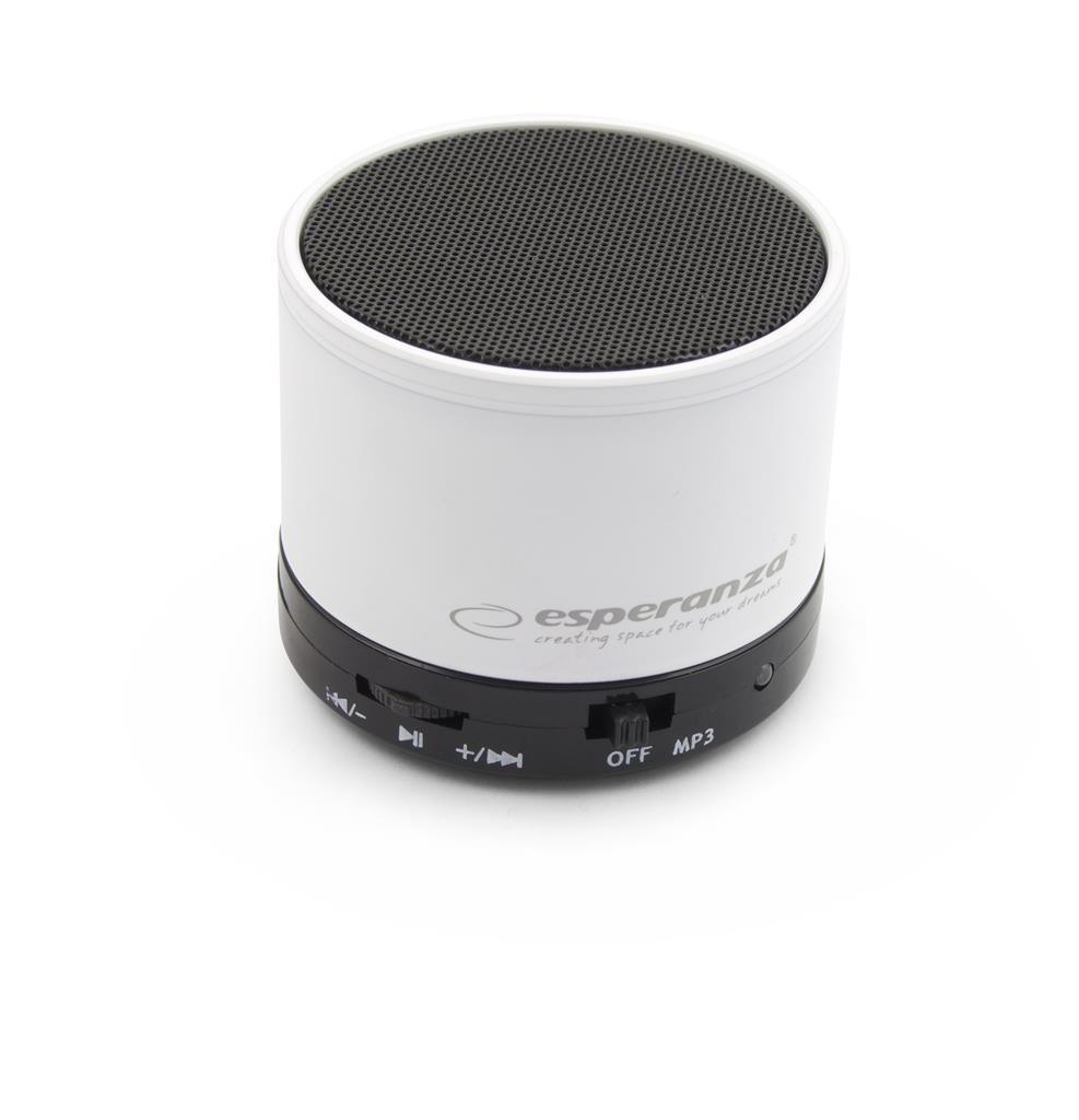 Esperanza EP115W RITMO Bluetooth reproduktor, bílý