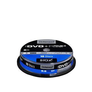 DVD+R DL DoubleLayer Print Intenso [ cakebox 10 | 8,5GB | 8x ]