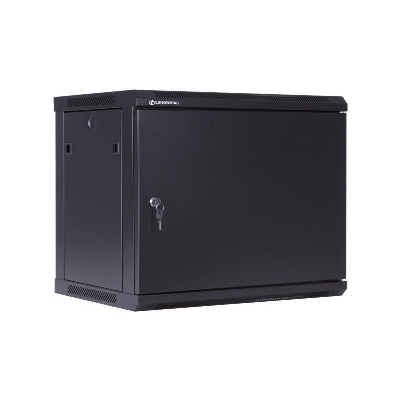 Linkbasic závěsná skříně 19'' 9U 600x450mm - černá