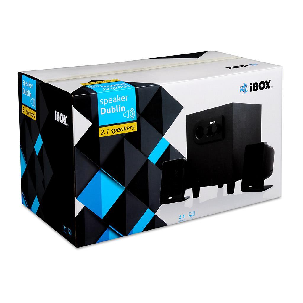 I-BOX DUBLIN 2.1 reproduktory, černé