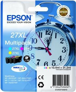 Bundle Epson T2715 C/M/Y 3-colour XL DURABrite