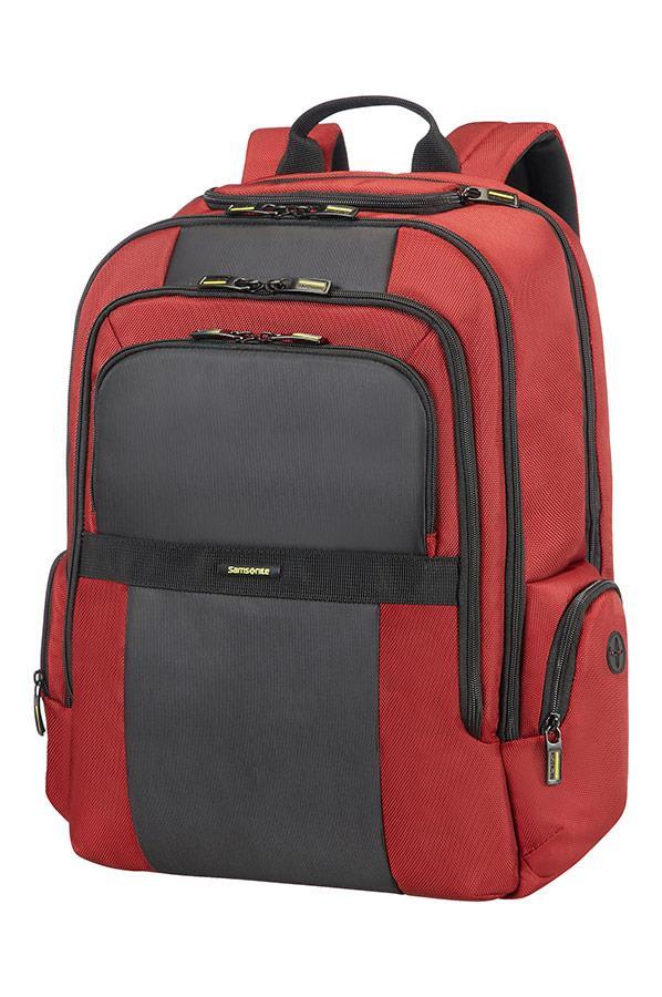 Backpack SAMSONITE 23N10003 INFINIPAK 17,3''comp,doc,tblt,pockts, red/black