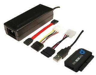 LOGILINK - Adaptér USB 2.0 - IDE + SATA, HDD 2.5'' i 3.5'', OTB