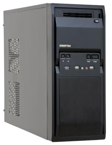 Chieftec PC skříň LG-01B-OP, ATX, bez zdroje, USB 3.0 (černá)