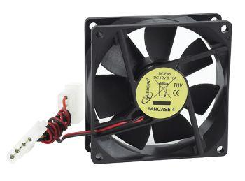 Gembird ventilátor pro PC case, 80x80mm, 4 pin konektor