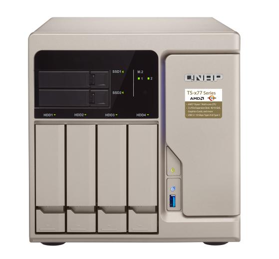 QNAP TS-677-1600-8G(3,2GHz/8GB/6xSATA/4xGbE)