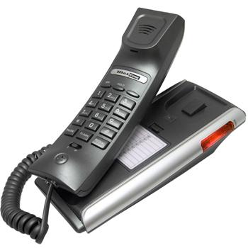 MaxCom KXT400 Clip stolní telefon, tónová volba, redial, montáž na stěnu