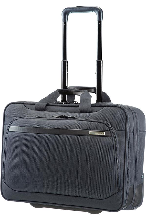 Rolling tote SAMSONITE 39V08010 17,3'' VECTURA comp, tab, doc, cloth, pock, d.gr