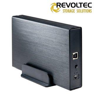 Revoltec externí box pro HDD 3.5'', Alu-Line III EX307, SATA do USB 3.0, hliník+