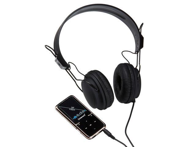 Intenso MP4 player 8GB Video Scooter LCD 1,8'' Black + Headphones