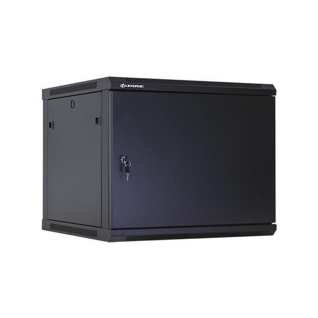 Linkbasic závěsná skříně 19'' 9U 600x600mm - černá