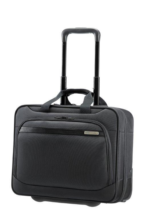 Rolling tote SAMSONITE 39V09010 17,3'' VECTURA comp, tab, doc, cloth, pock, blk