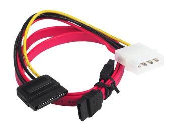 Gembird SATA III datový kabel 48 cm včetně redukce napájení MOLEX - SATA