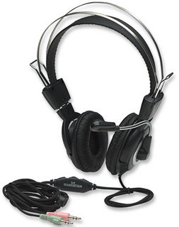 Manhattan Klasik stereo headset