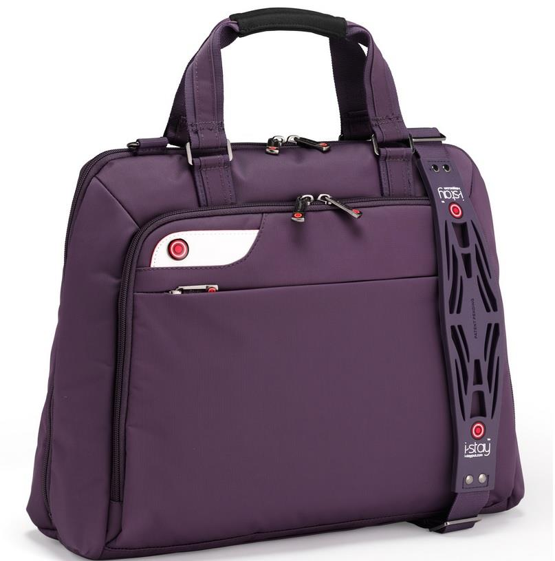 I-stay Launch Ladies Laptop Bag 15.6'' purple