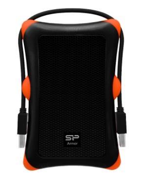 Silicon Power externí HDD Armor A30 2.5'' 2TB USB 3.0, Anti-shock, černá