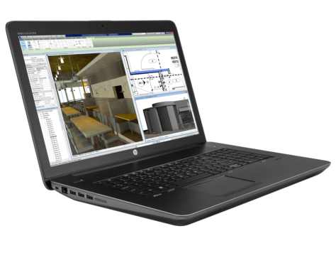 HP ZBook 17 G3 i7-6700HQ 17.3 FHD 8GB 256 TurboDrive DVD QM3000M W7P+W10P ENG