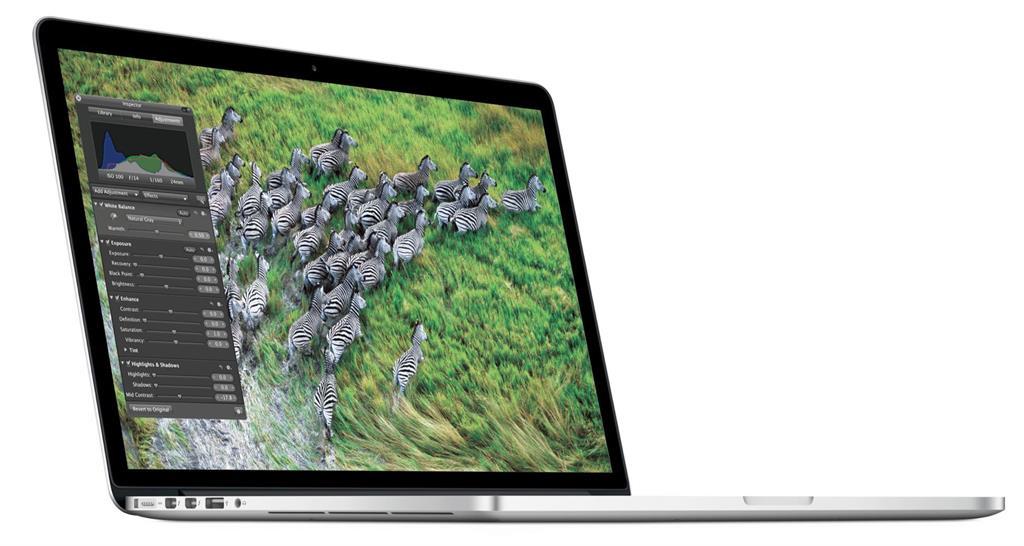 MacBook Pro 15-inch Retina Core i7 2.2GHz/16GB/256GB/Intel Iris Pro EN kláv.