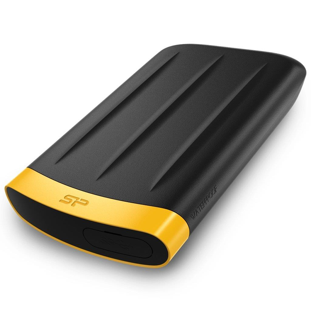 Silicon Power externí HDD Armor A65 2.5'' 2TB USB 3.0, IP67, černá