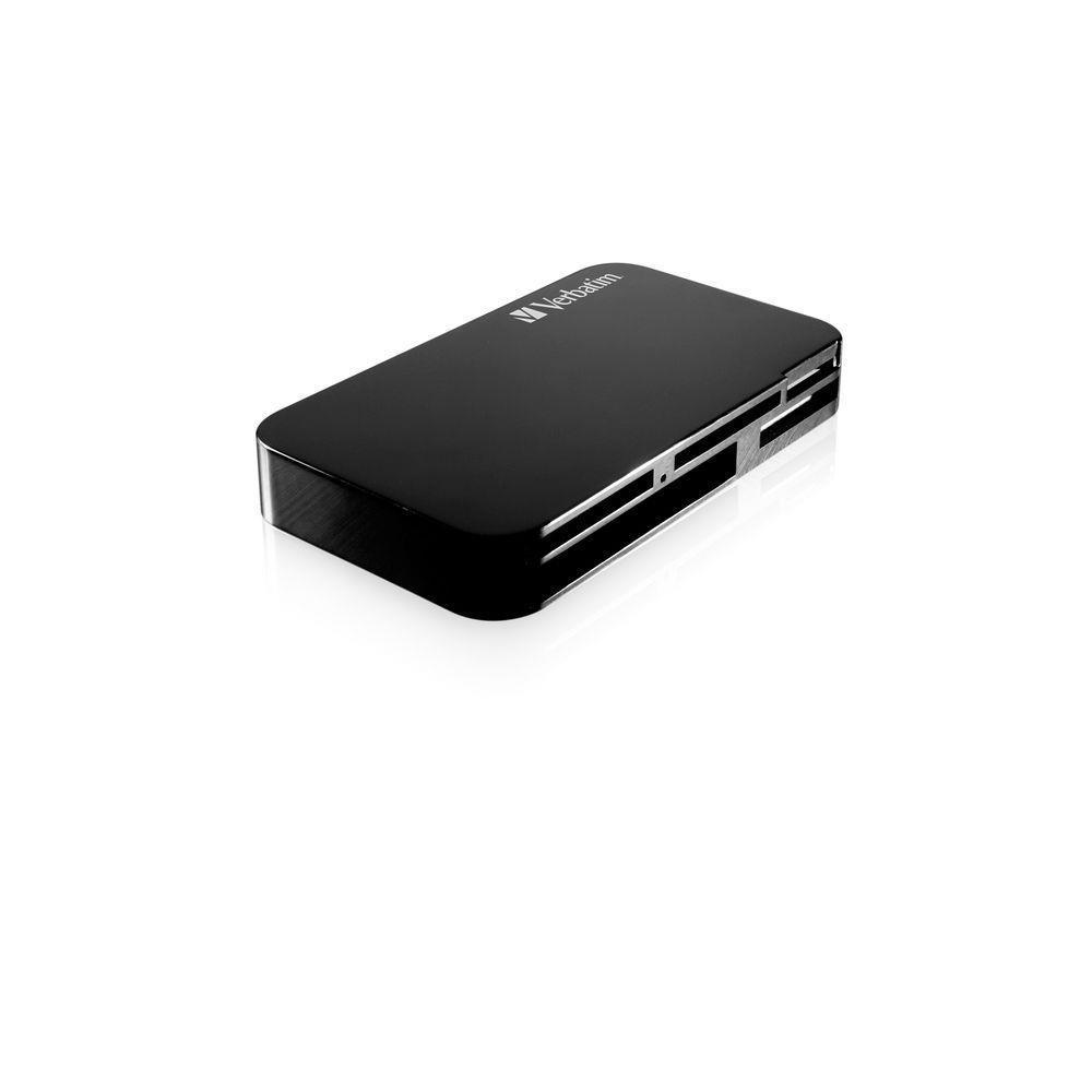 Verbatim UNIVERSAL MEMORY CARD READER BLACK USB 2.0