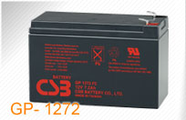 CSB kit 2 baterií GP1272 F2 12V/7.2Ah