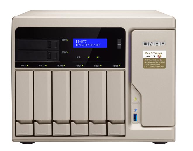 QNAP TS-877-1600-8G(3,2GHz/8GB/8xSATA/4xGbE)
