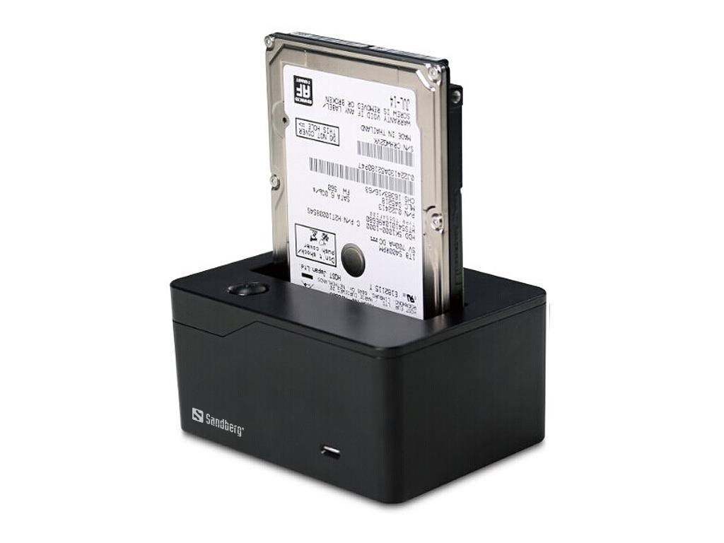 Sandberg dokovací stanice USB 3.0 pro harddisk SATA 2.5''