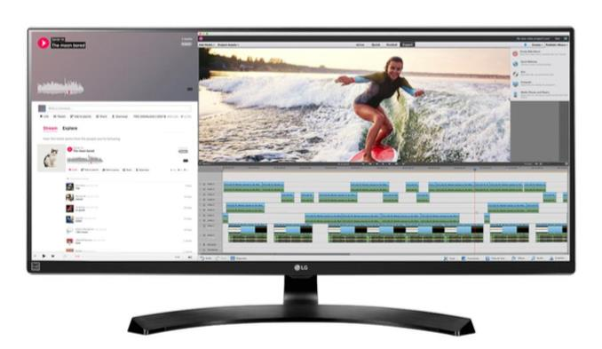 LG LCD 34UM88C-P 34''LED,IPS, 5ms, DC5mil, HDMI/DP,USB, repro, 3440x1440, HAS, č