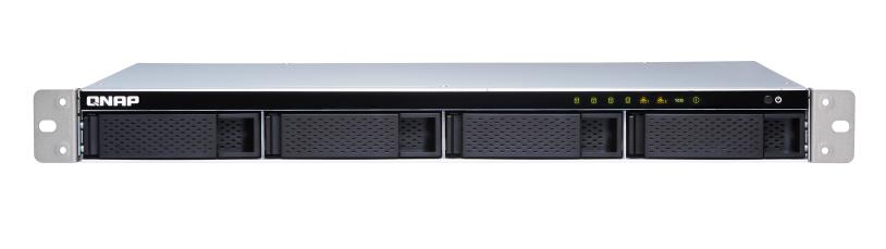 QNAP TS-431XeU-8G (1,7GHz / 8GB RAM / 4x SATA / 2x GbE / 1x 10GbE SFP+ / 4x USB 3.0 / malá hloubka)