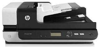 HP Scanjet Enterprise Flow 7500 Flatbed Scanner (A4,600x600,USB 2.0)