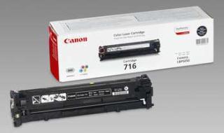 Toner Canon CRG716BK 2300str. (CRG-716BK) pro LBP-5050