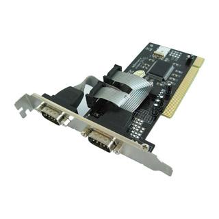 4World řadič 2x sériový COM RS-232 ve formě PCI