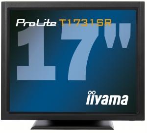 Iiyama LCD T1731SR-B1 17''LED dotykový, 5ms, VGA/DVI, repro, 1280x1024, č