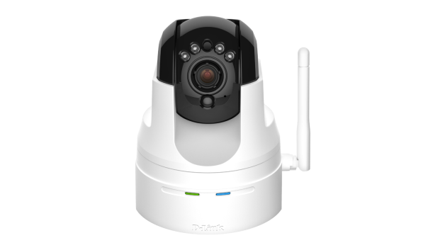 D-Link DCS-5222L Securicam Wireless N HD Day & Night PTZ Camera, myDlink, H.264, MJPEG, noční IR LED, ICR, MicroSD slot