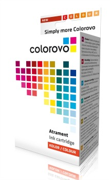 Inkoust COLOROVO 901-CL   Color   21 ml   HP 901 (CC656AE) renovace