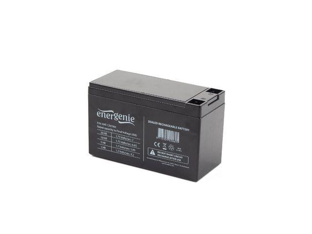 Energenie Rechargeable Gel Battery 12V/7.5AH