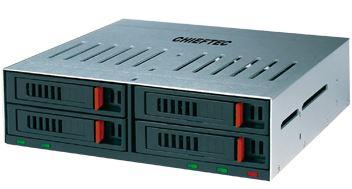 Chieftec externí box ATM-1042S, 4x 2.5'' SATA