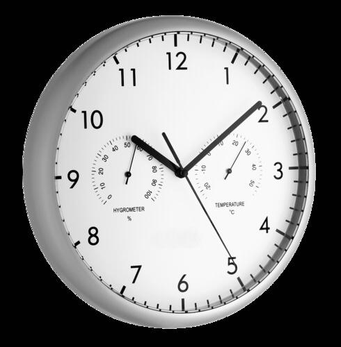 Nástěnné hodiny TFA 98.1072 s teploměrem a vlhkoměrem